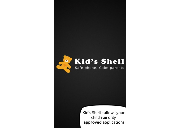 Kid's Shell - safe kids mode – screenshot 1
