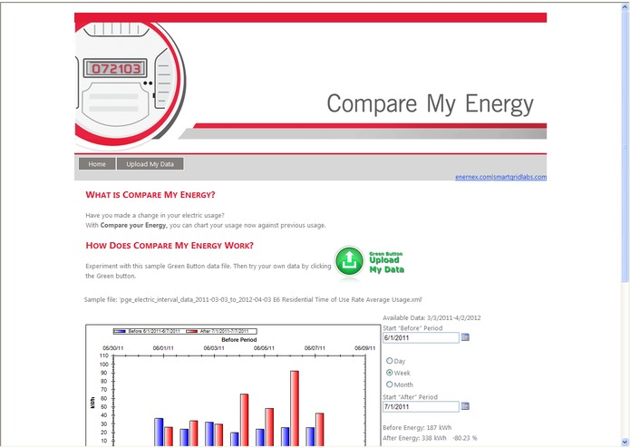 Compare My Energy – screenshot 1