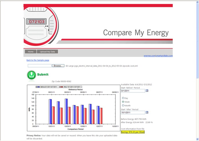 Compare My Energy – screenshot 2