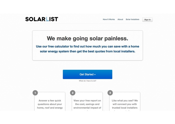 SolarList - makes going solar painless – screenshot 1