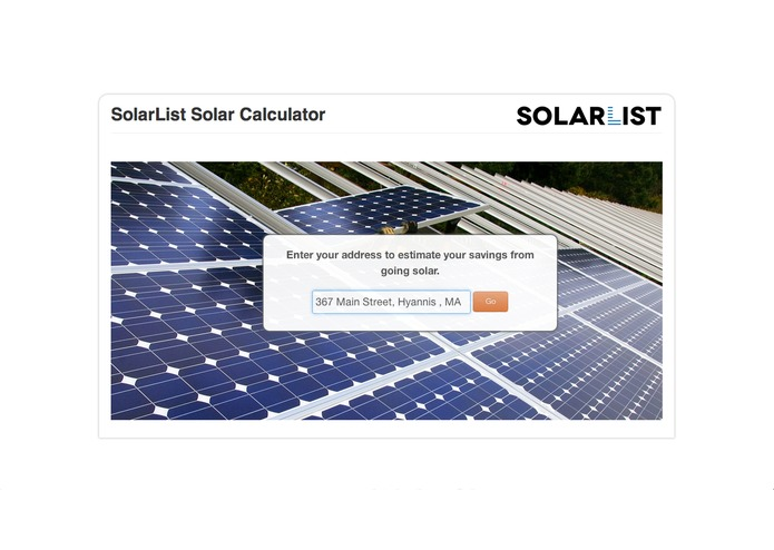 SolarList - makes going solar painless – screenshot 2