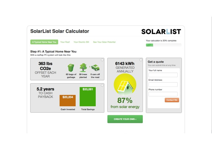 SolarList - makes going solar painless – screenshot 3
