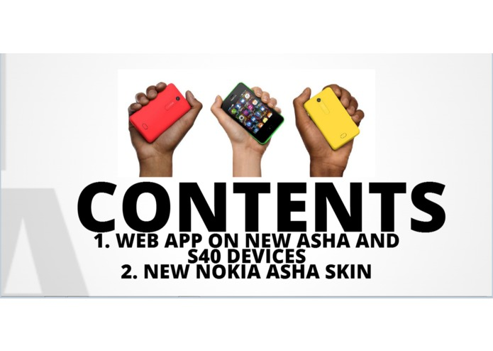 New Nokia Asha – screenshot 1