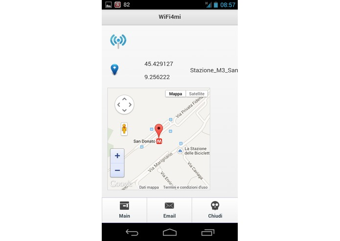 Wifi4Mi Milano Open Wifi – screenshot 2
