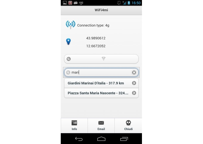 Wifi4Mi Milano Open Wifi – screenshot 5