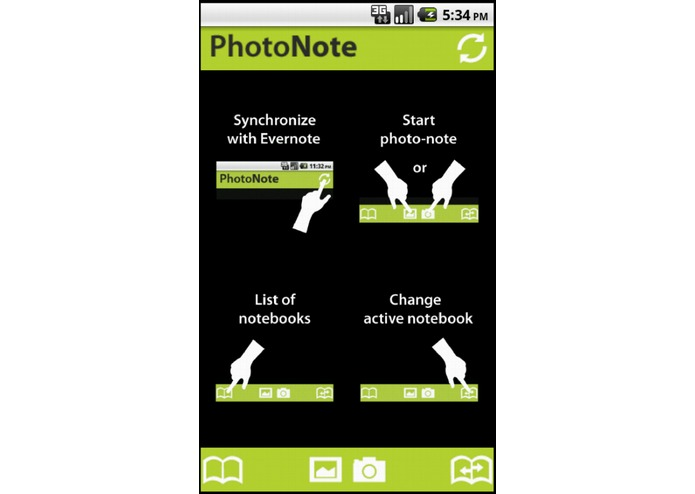 PhotoNote – screenshot 1