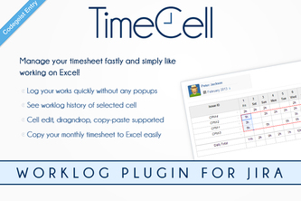 TimeCell Worklog Plugin for JIRA