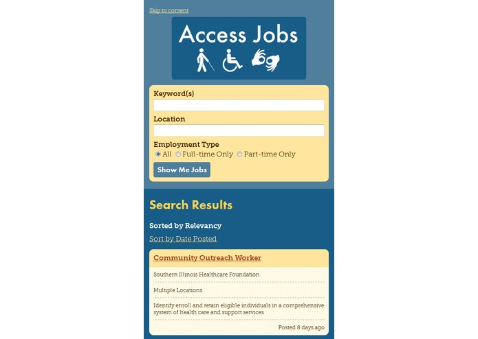 Access Jobs – screenshot 2