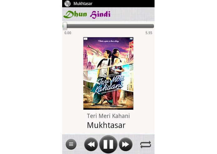 Dhun - Music Player for Bollywood Music – screenshot 3