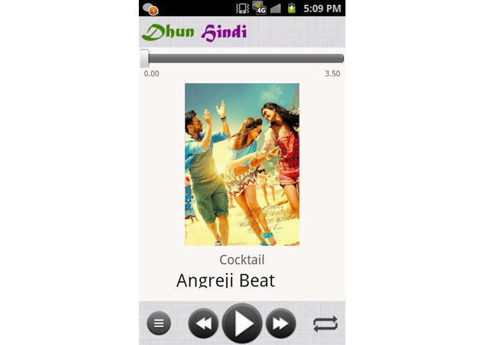 Dhun - Music Player for Bollywood Music – screenshot 4