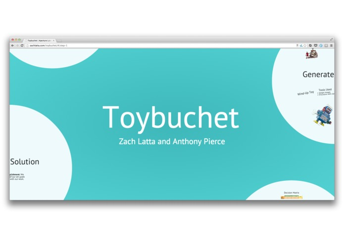 Toybuchet – screenshot 1