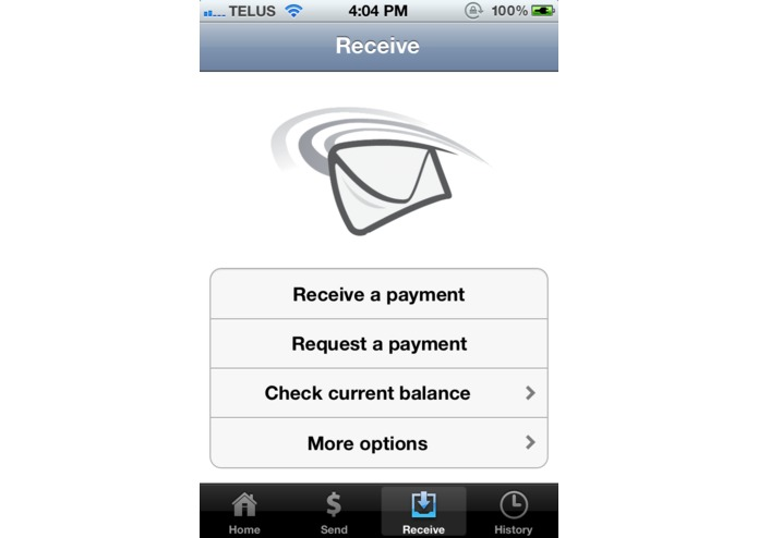 MintChip for iPhone – screenshot 3
