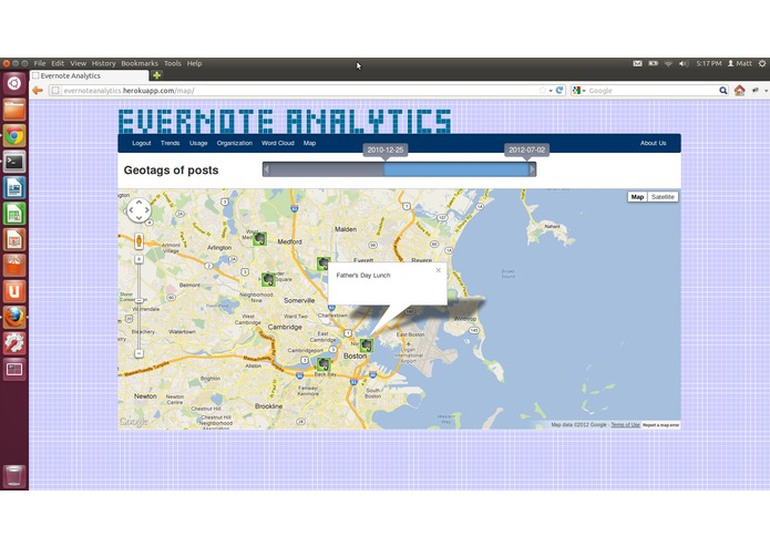 Evernote Analytics – screenshot 5