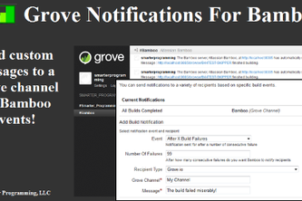 Grove Notifications for Bamboo