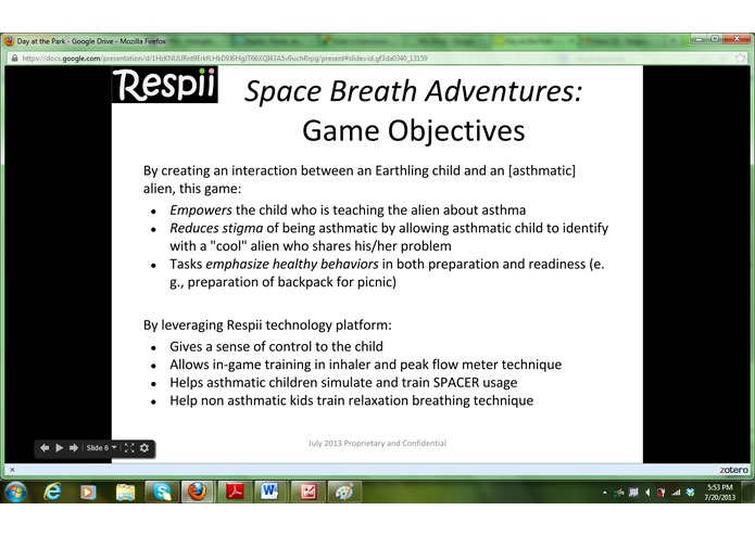 BreathSpace – screenshot 3