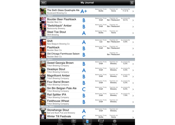 myBeerNation - Beer Journal and Brewery Finder – screenshot 5