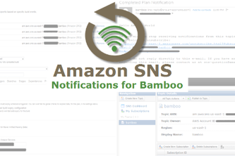 Amazon SNS Notifications for Bamboo