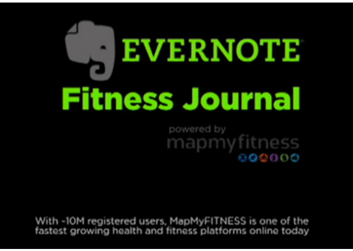 Evernote Fitness Journal – screenshot 4