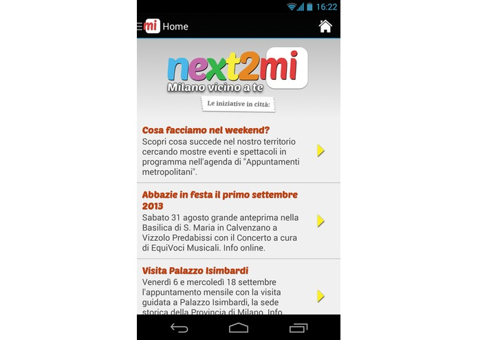 next2mi – screenshot 3
