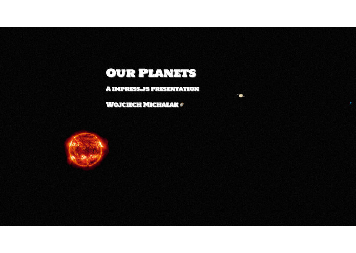 Our planets – screenshot 1