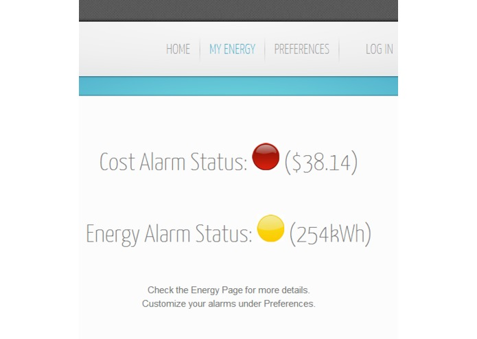 My Energy Tracker – screenshot 1