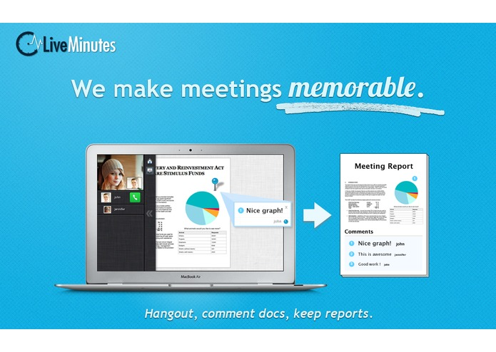 LiveMinutes: remember every meeting! – screenshot 1