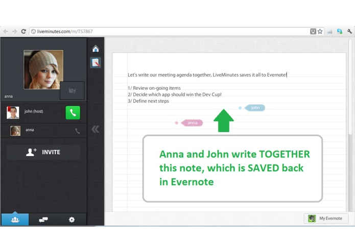 LiveMinutes: remember every meeting! – screenshot 2