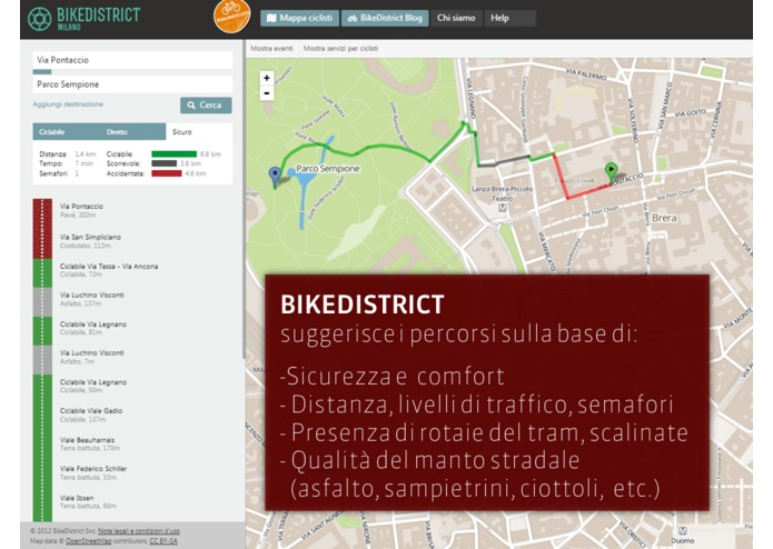 BikeDistrict – screenshot 2