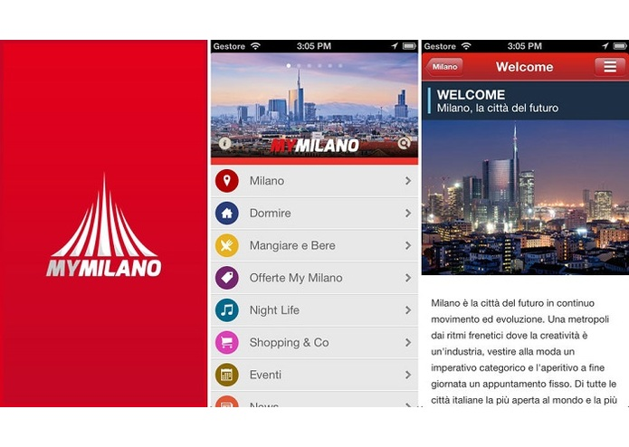 MyMilano – screenshot 1