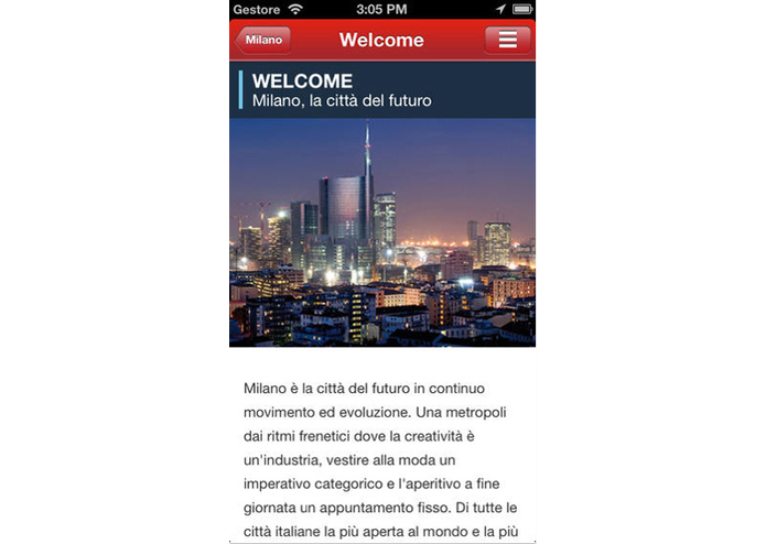 MyMilano – screenshot 3