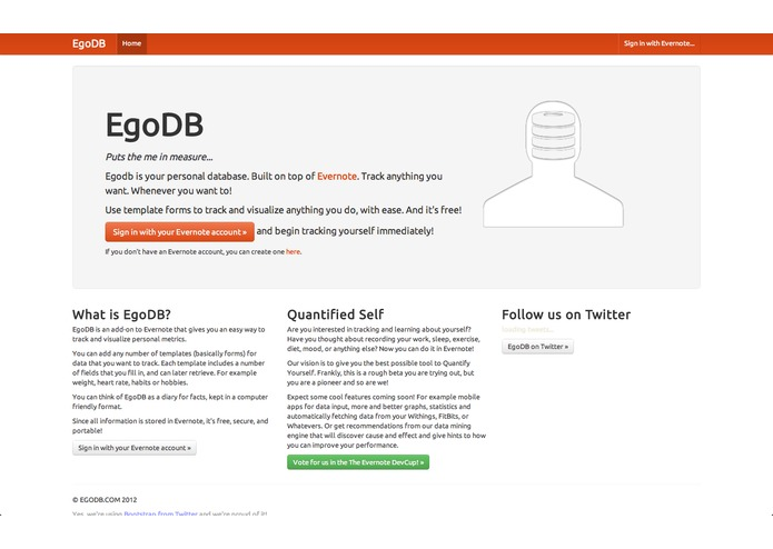 EgoDB – screenshot 1