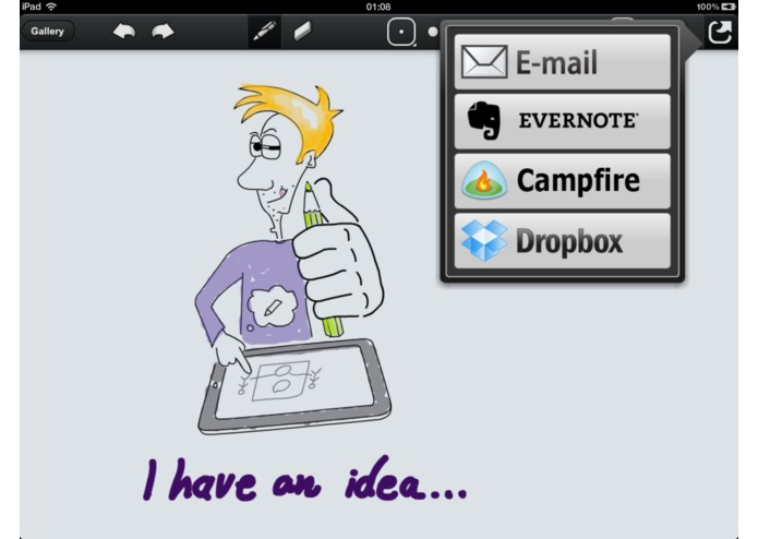 IdeaDraw for iPad – screenshot 1