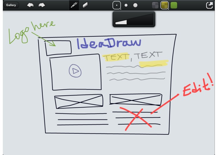 IdeaDraw for iPad – screenshot 4
