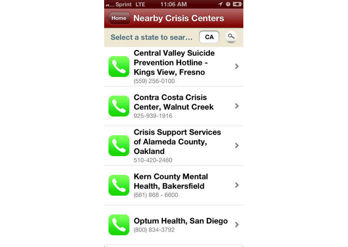Lifebuoy : Suicide Prevention, Continuity of Care and Follow-up – screenshot 2
