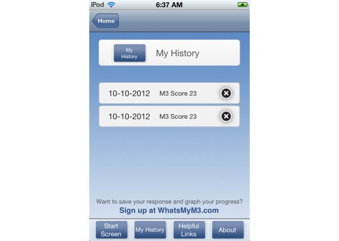 WhatsMyM3 – screenshot 4