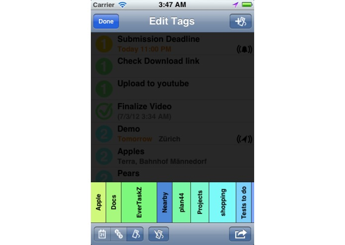EverTaskZ – screenshot 1
