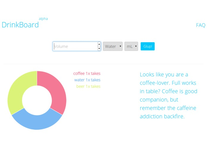 DrinkBoard – screenshot 1