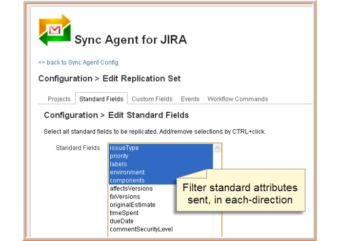 Sync Agent for JEMH on JIRA – screenshot 2