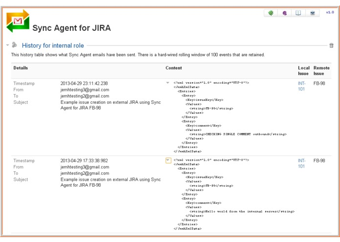 Sync Agent for JEMH on JIRA – screenshot 5