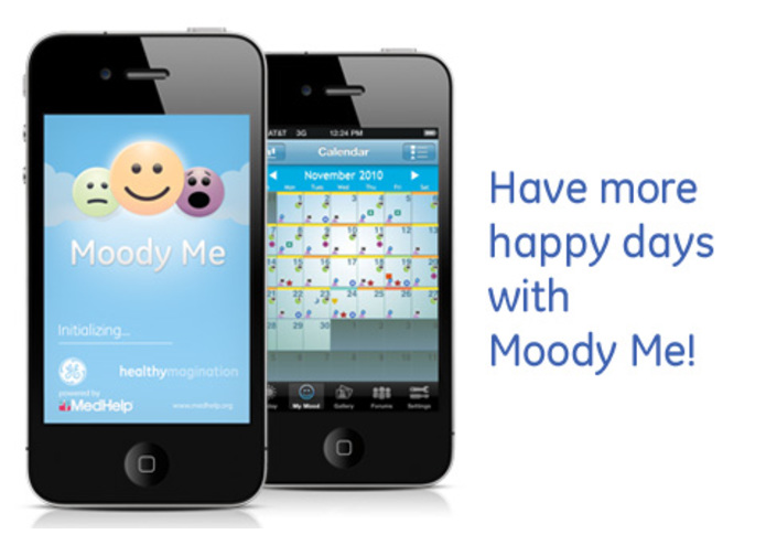 Moody Me - Mood Diary and Tracker App – screenshot 2