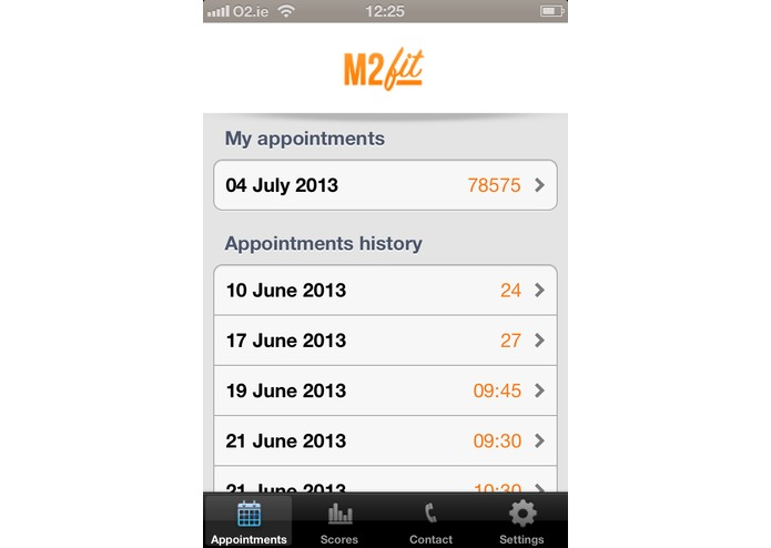 mFIT - Mobile Feedback Informed Treatment – screenshot 2