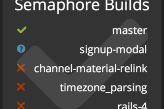 Semaphore Builds