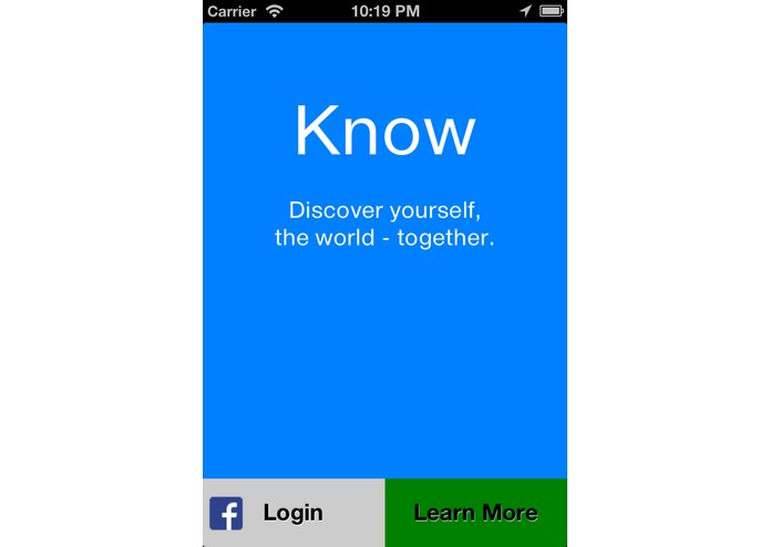 Know – screenshot 1