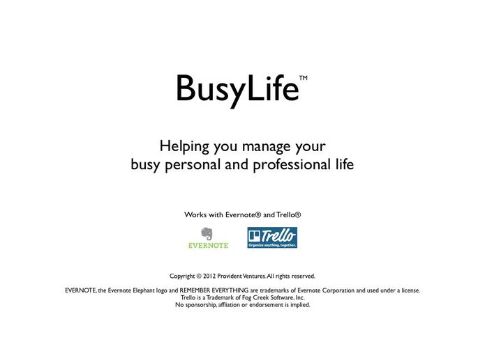 BusyLife – screenshot 4