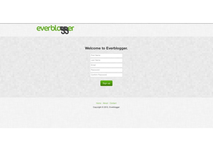 Everblogger – screenshot 2