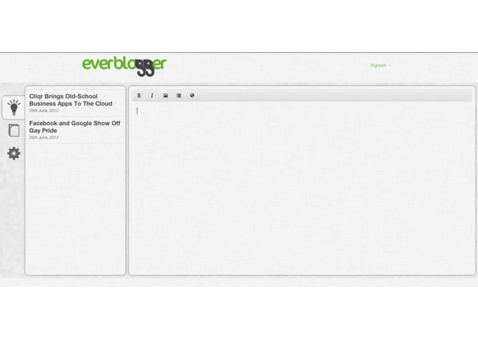 Everblogger – screenshot 3