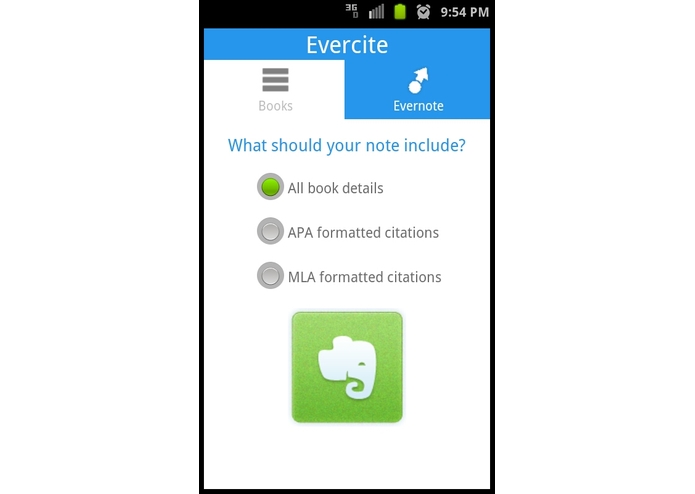 Evercite – screenshot 2