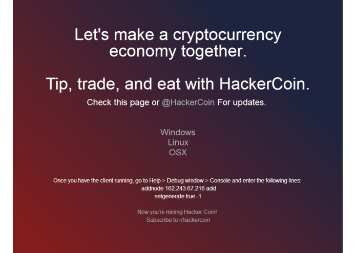 HackerCoin – screenshot 1