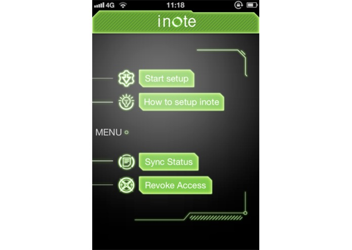 iNote Sync – screenshot 2
