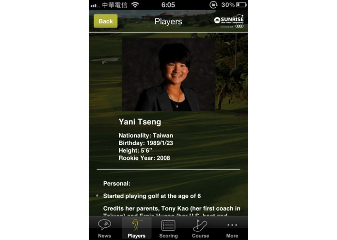 Sunrise LPGA Taiwan 2012 – screenshot 1